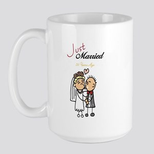 Just Married 50 years ago Large Mug
