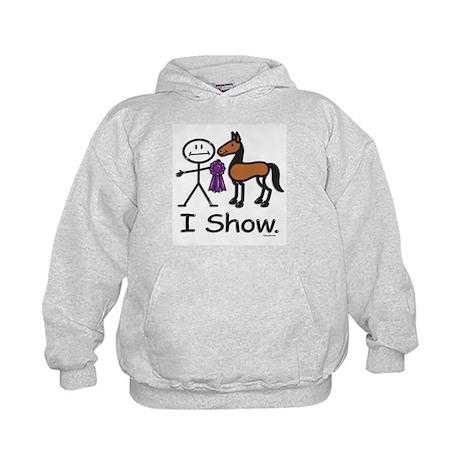 Horse Show Kids Hoodie