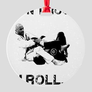 Brazilian Jiu Jitsu T-Shirt Round Ornament