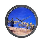Aspens on Hill Wall Clock