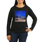 Aspens on Hill Women's Long Sleeve Dark T-Shirt