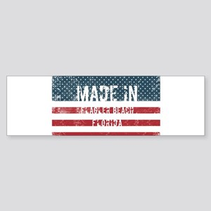 Made in Flagler Beach, Florida Bumper Sticker