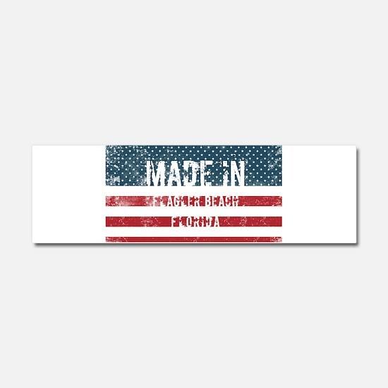 Made in Flagler Beach, Florida Car Magnet 10 x 3