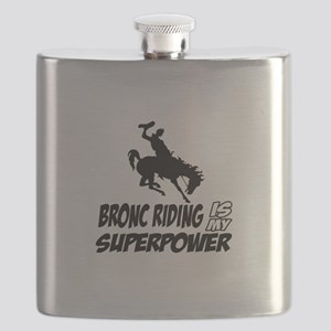 Bronc riding is my superpower Flask