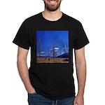 Yellowstone river flat Dark T-Shirt