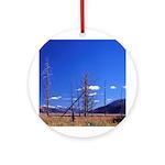 Yellowstone river flat Ornament (Round)