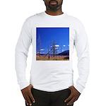 Yellowstone river flat Long Sleeve T-Shirt