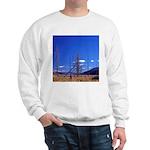 Yellowstone river flat Sweatshirt