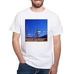 Yellowstone river flat White T-Shirt