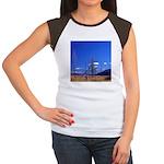 Yellowstone river flat Women's Cap Sleeve T-Shirt