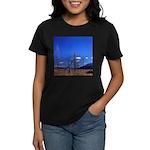 Yellowstone river flat Women's Dark T-Shirt