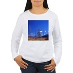 Yellowstone river flat Women's Long Sleeve T-Shirt