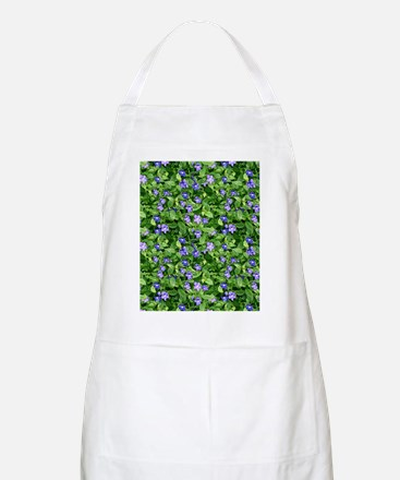 Periwinkle Blooms Apron