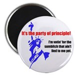 It's the Party of Principle! Magnet (100 pk)