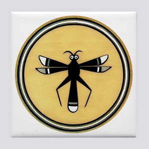 MIMBRES DRAGONFLY BOWL DESIGN Tile Coaster