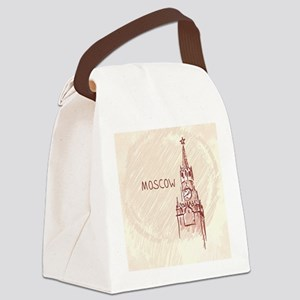 Moscow Canvas Lunch Bag