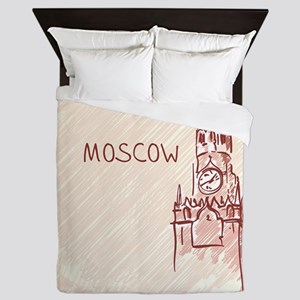Moscow Queen Duvet