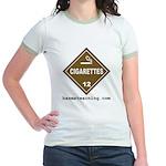 Cigarettes Women's Ringer T-Shirt