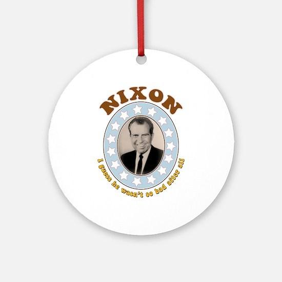 Bring Back Nixon Keepsake Ornament (Round)