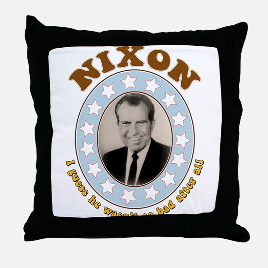 Bring Back Nixon Throw Pillow