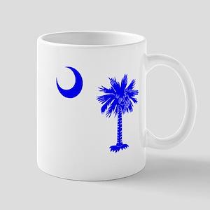 Palmetto and Crescent SC Mug