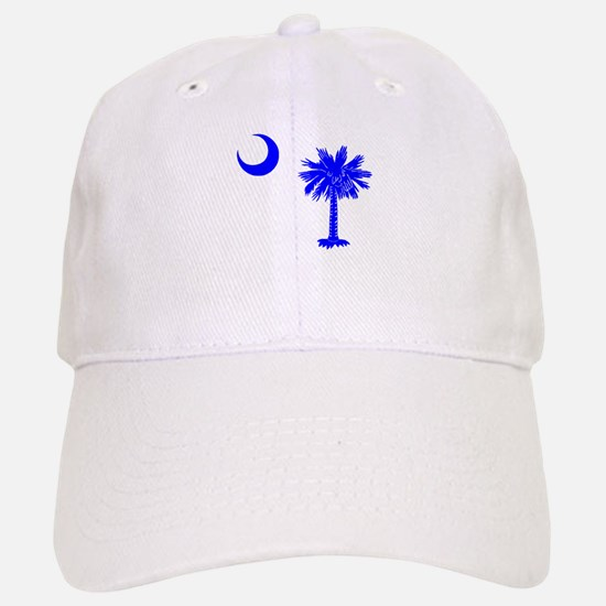 Palmetto and Crescent SC Baseball Baseball Cap