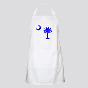 Palmetto and Crescent SC BBQ Apron