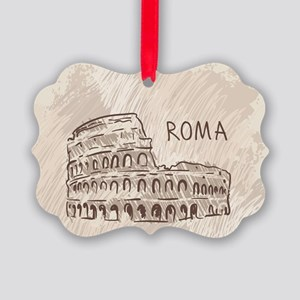 Rome Picture Ornament
