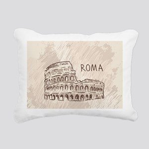 Rome Rectangular Canvas Pillow