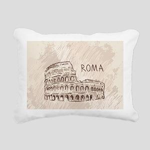 Rome Rectangular Canvas Pillow