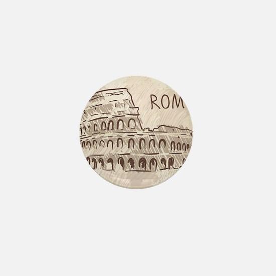 Rome Mini Button