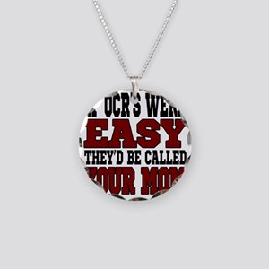 If OCRs Were Easy Necklace Circle Charm