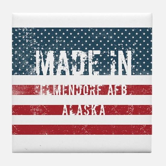 Cute Born alaska Tile Coaster