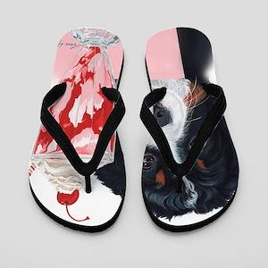 Bernerlicious Flip Flops