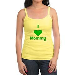 I love (heart) Mommy Jr.Spaghetti Strap