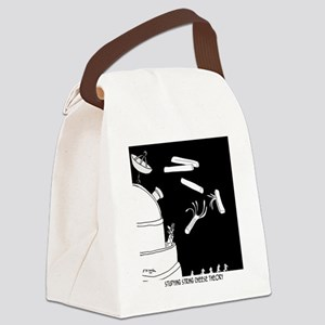 String Cheese Theory Canvas Lunch Bag