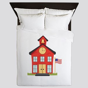 School House Queen Duvet