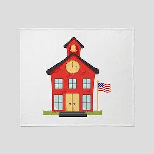 School House Throw Blanket