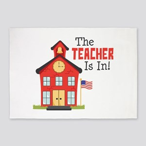 The Teacher Is In! 5'x7'Area Rug