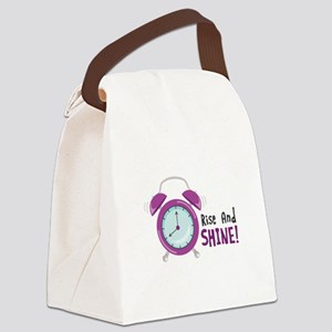 Rise And Shine! Canvas Lunch Bag