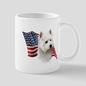 Westie Flag Mug