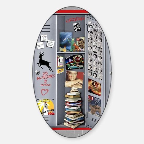 THE locker AVHS Sticker (Oval)