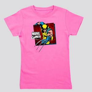 Wolverine Square Girl's Tee