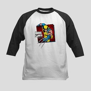 Wolverine Square Kids Baseball Jersey