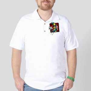 Wolverine Square Golf Shirt