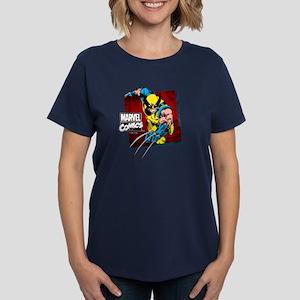 Wolverine Square Women's Dark T-Shirt