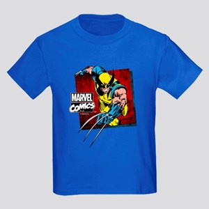 Wolverine Square Kids Dark T-Shirt