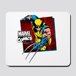 Wolverine Square Mousepad