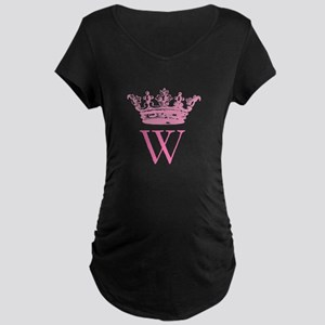 Vintage Crown Monogram Maternity T-Shirt