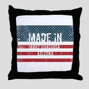Made in Fort Huachuca, Arizona Throw Pillow